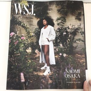 Naomi Osaka Power Play WSJ Fashion Magazine